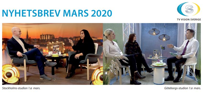 NYHETSBREV MARS 2020