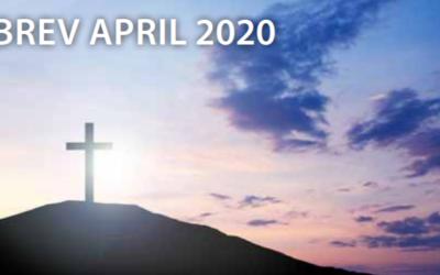 NYHETSBREV APRIL 2020