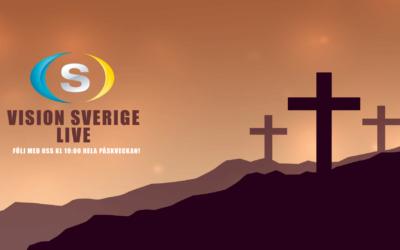 Följ med Vision Sverige i påsk!