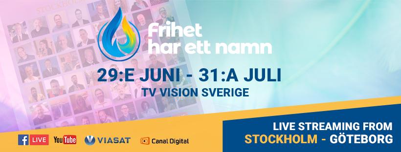 Vision Sverige storsatsar på livesänd sommarkonferens