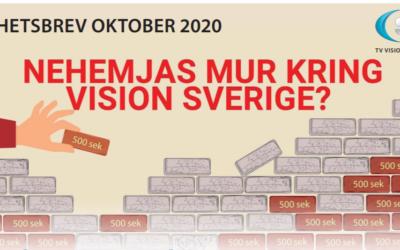 Nyhetsbrev OKTOBER 2020