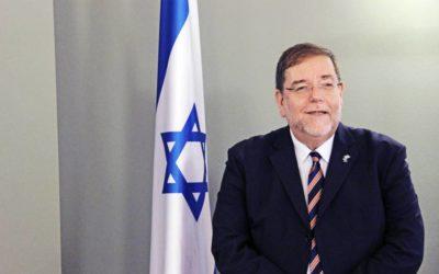 Israels ambassadör i Sverige.